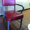 Vintage Metal Guest Chair